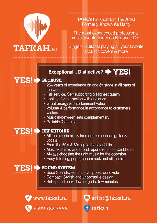 Tafkah flyer design by k-Dushi.com