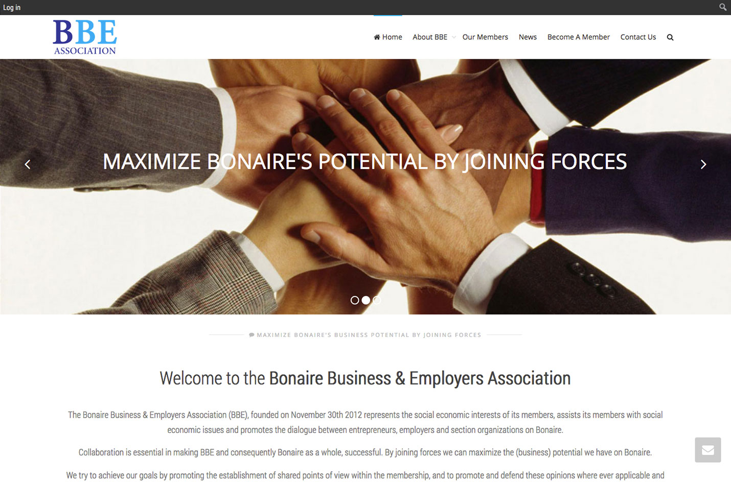 website design bonaire be