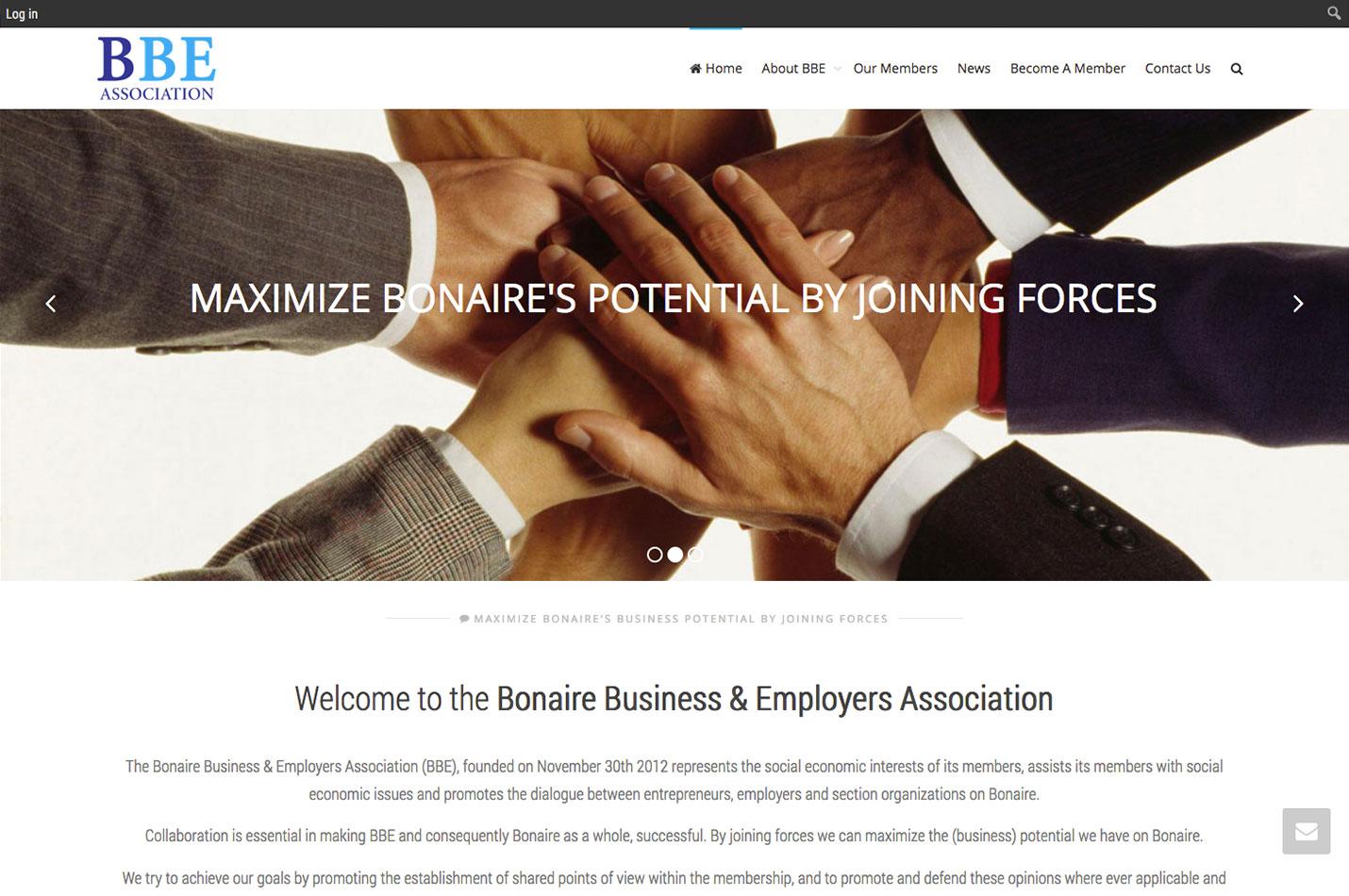 website design bonaire be