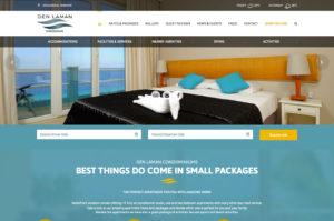 den laman bonaire website design