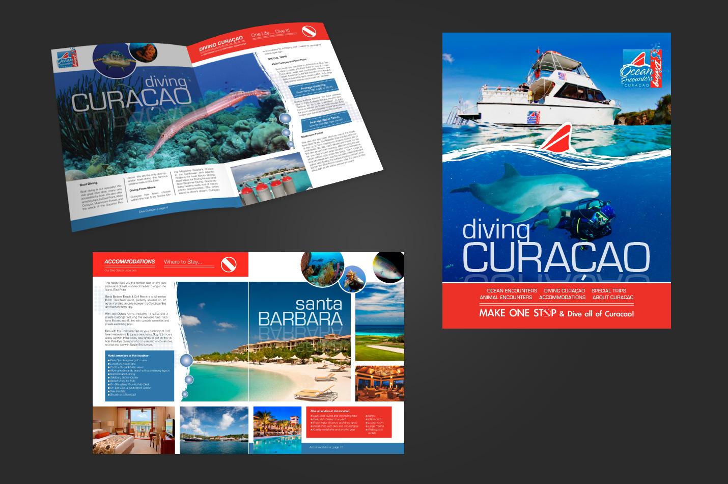 Ocean Encounters - graphic design by k-Dushi.com