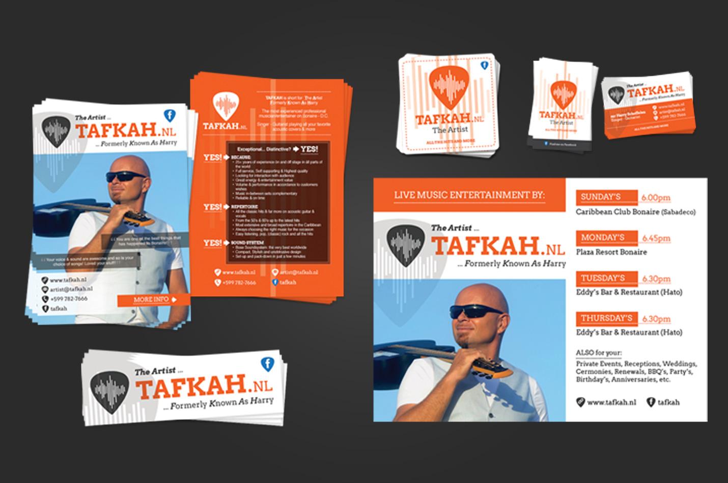 Tafkah.nl - graphic design by k-Dushi.com